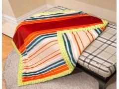 珊瑚绒双层复合毯