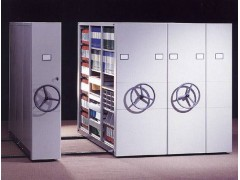 三柱式密集档案柜