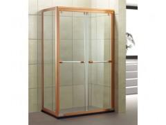 单层置物架淋浴房