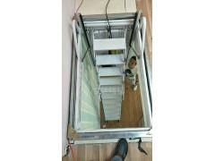 全自动碳钢伸缩楼梯