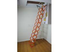 半自动铝镁合金伸缩楼梯