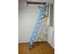 半自动钛镁合金伸缩楼梯