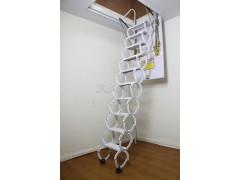 半自动碳钢伸缩楼梯