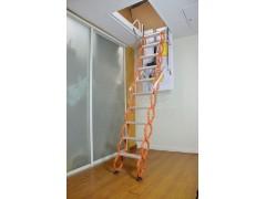 全自动钛镁合金伸缩楼梯
