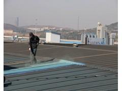 彩钢板屋顶施工现场