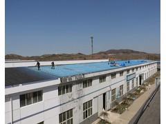 屋顶防水施工中