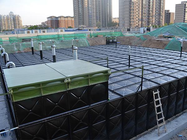 BDF地埋式钢板水箱