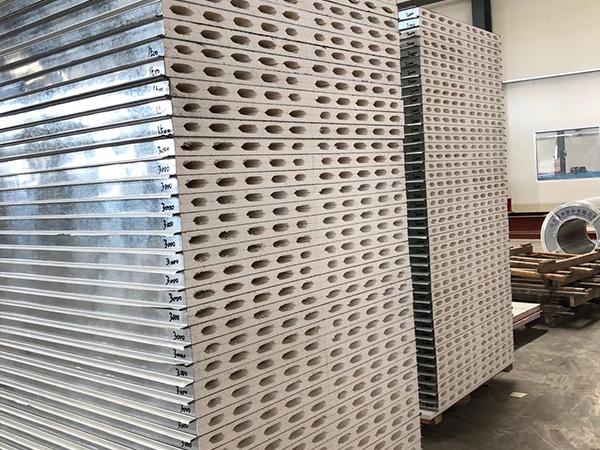 净化硫氧镁彩钢板