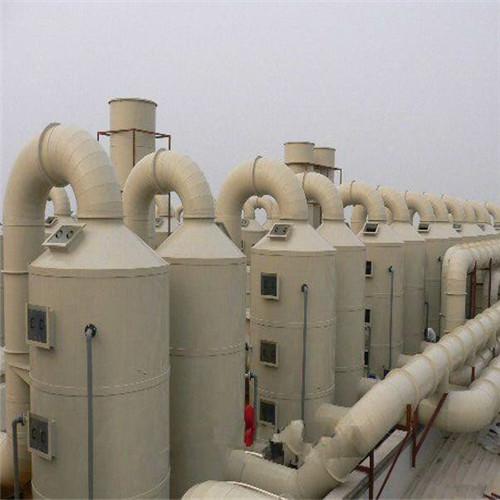 酸碱废气处理喷淋塔PP 废气净化设备