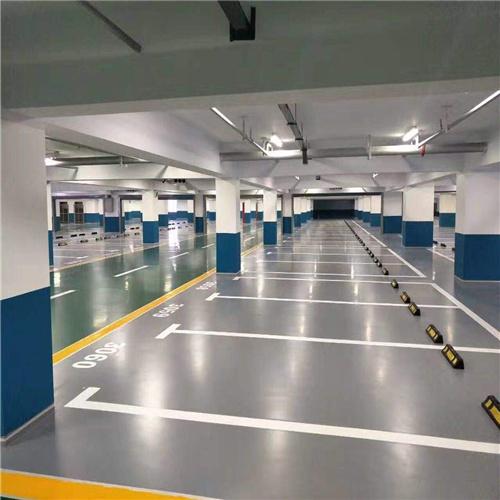 停车场环氧地坪 施工