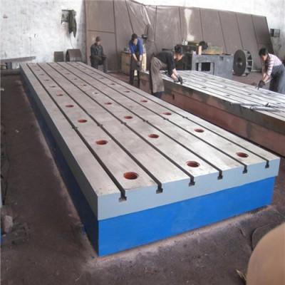 铸铁划线平台  铸铁检验平台