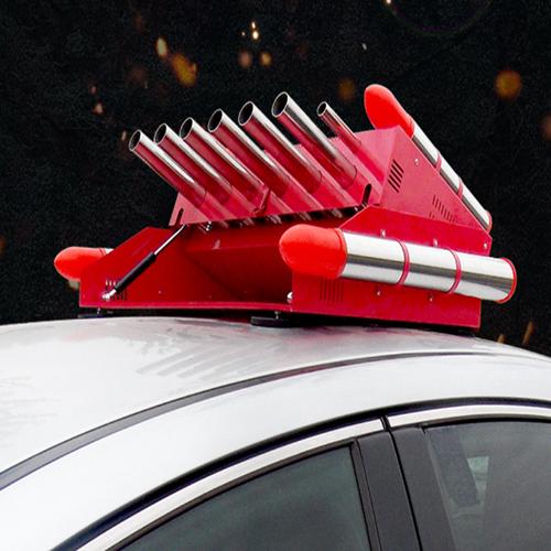 超响小型车顶电子鞭炮